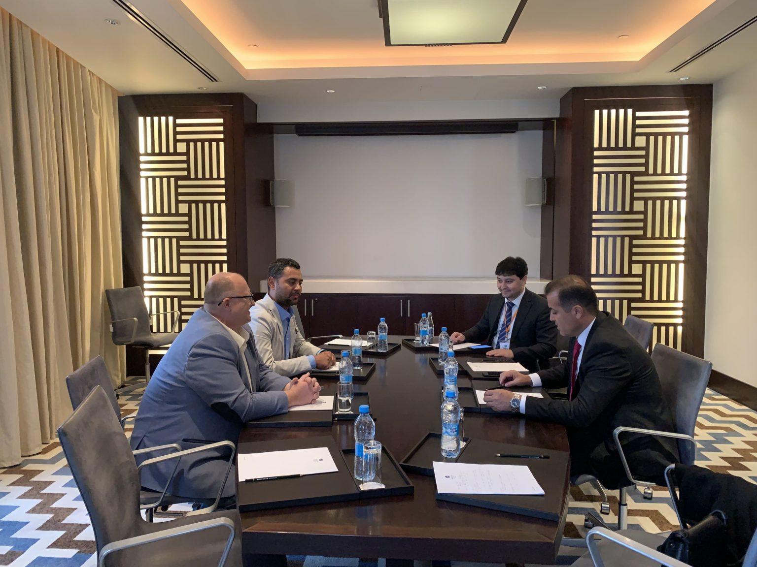 Встреча ИК МФСА и региональной программы GIZ «Зелёная Центральная Азия»